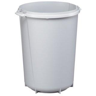 DURABLE AbfallbehälterDURABIN ROUND 40,Polypropylen,rund,425x520mm(ØxH),40l,grau