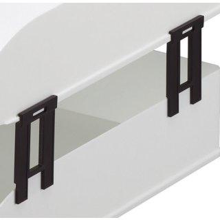 DURABLE Höhendistanzelement für Briefablageschale BASIC, Kunststoff, schwarz