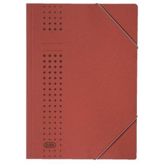 Eckspanner chic, Karton (RC), 320 g/qm, A4, rot