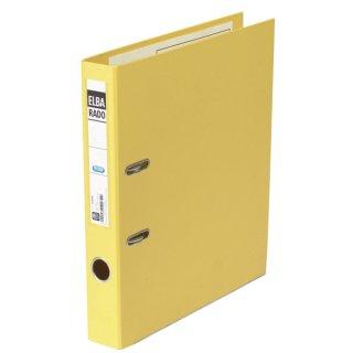Ordner rado plast PVC/PVC - A4, 50 mm, gelb