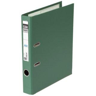 Ordner rado plast PVC/PVC - A4, 50 mm, grün