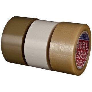 tesapack® 4124 PVC, 66m x 50mm, weiss