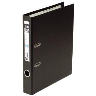 Ordner rado plast PVC/PVC - A4, 50 mm, schwarz