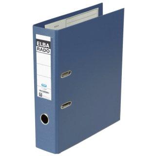 Ordner rado plast PVC/PVC - A4, 80 mm, blau