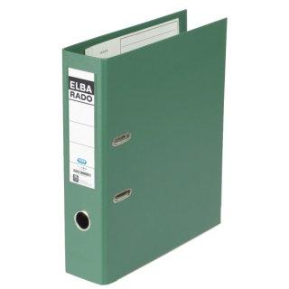 Ordner rado plast PVC/PVC - A4, 80 mm, grün
