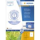 Herma Etiketten A4 naturweiß 210x297 mm...
