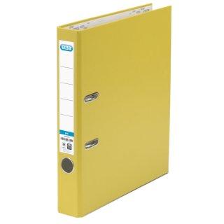 Ordner smart Pro (PP/Papier) - A4, 50 mm, gelb