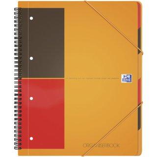 Oxford Organizerbook International, Optik Paper 80 g/qm, A4+, 6mm liniert, 90