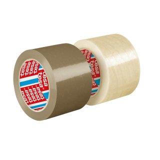 tesapack® 4124 PVC, 66m x 50mm, transparent