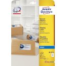 Avery Zweckform® J8173-25 Versand-Etiketten, 99,1 x...