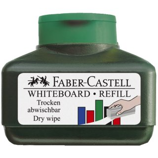 Faber-Castell Refill WHITEBOARD 1584, für Marker 1583 und 1586, 30 ml, grün