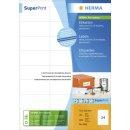 Herma Etiketten Premium A4, weiß 70x33,8 mm Papier...