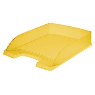 5227 Briefkorb Standard Plus, A4, Polystyrol, gelb frost