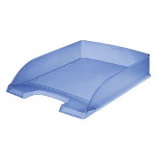 5227 Briefkorb Standard Plus, A4, Polystyrol, blau frost