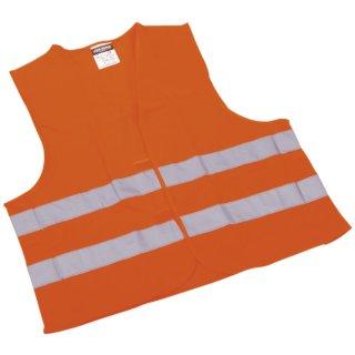 Pannen-Warnwesten - Klettverschluß - orange