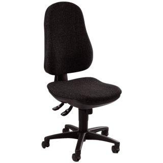Bürodrehstuhl Support® SY ohne Armlehnen anthrazit