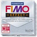 Modelliermasse FIMO® soft - 56 g, glitter silber