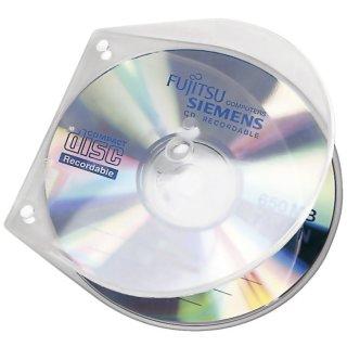 CD/DVD-Hüllen - Hardbox zum Abheften, 10 Stück