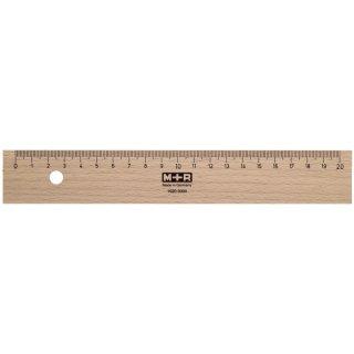 Holzlineale, 20 cm
