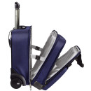 Complete Handgepäck Trolley Smart Traveller - Polyester, titan blau