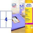 Avery Zweckform® L7769-40 Hochglanz-Etiketten, 99,1 x...