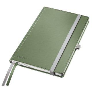 Leitz Notizbuch Style, fester Einband, A5, liniert, seladon grün